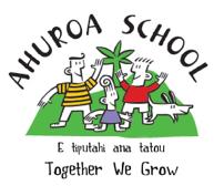 ahuroa school logo