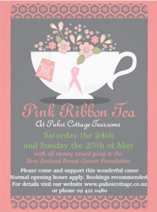 Pink Ribbon Breakfast flyer