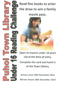 Puhoi Library Challenge