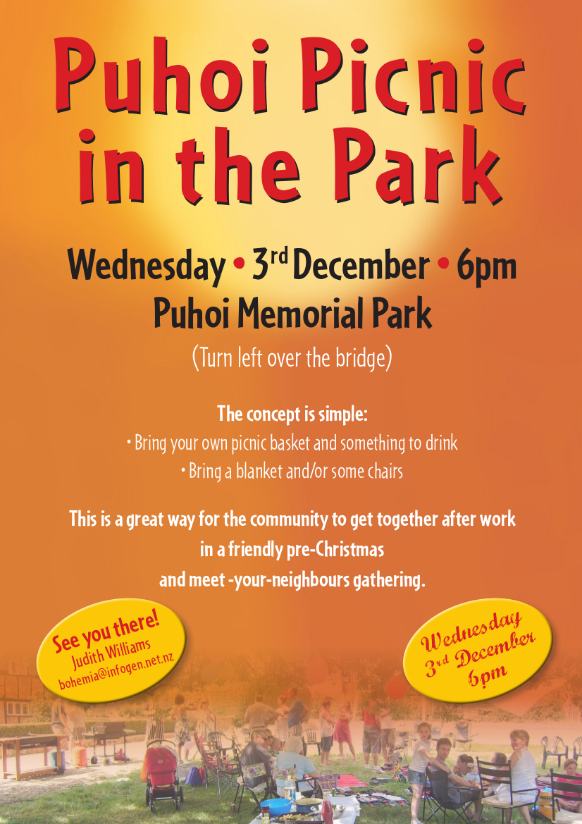 Puhoi Picnic in the Park
